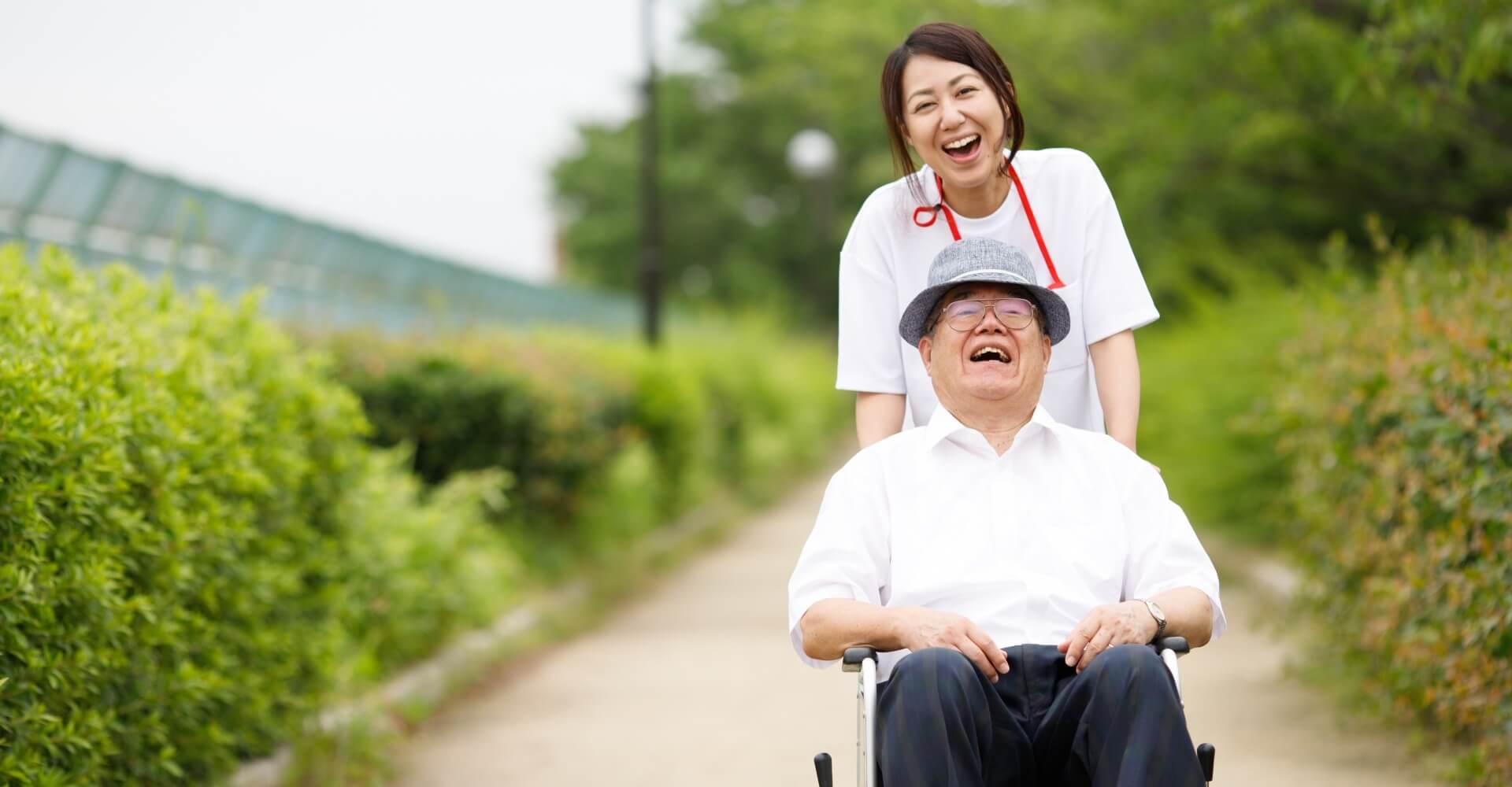 24時間365日 充実した日常が過ごせるよう 絆の看護がサポートします!